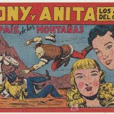 Tebeos: TONY Y ANITA Nº 72. SIN ABRIR. Lote 20769161