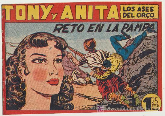 TONY Y ANITA Nº 91. (Tebeos y Comics - Maga - Tony y Anita)