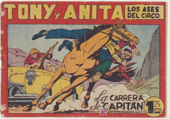 TONY Y ANITA Nº 96. MAGA 1951. (Tebeos y Comics - Maga - Tony y Anita)