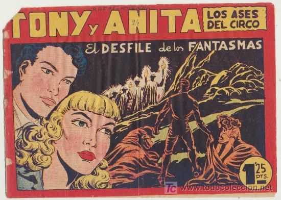 TONY Y ANITA Nº 94. (Tebeos y Comics - Maga - Tony y Anita)