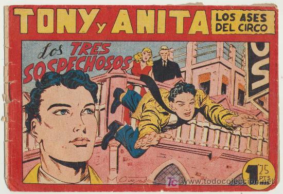 TONY Y ANITA Nº 89. (Tebeos y Comics - Maga - Tony y Anita)