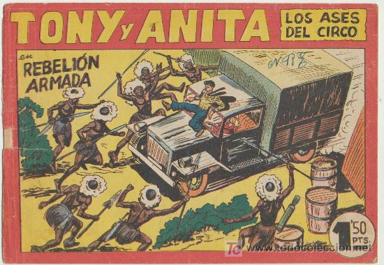 TONY Y ANITA Nº 146. (Tebeos y Comics - Maga - Tony y Anita)
