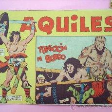 Tebeos: AQUILES N. 21 SEGRELLES 1962 EDITORIAL MAGA , COMO NUEVO. Lote 20853514