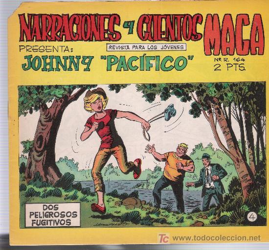 JOHNNY PACÍFICO Nº 4. MAGA 1965. (Tebeos y Comics - Maga - Otros)