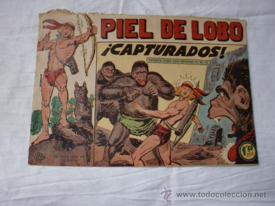 PIEL DE LOBO Nº 28 ORIGINAL (Tebeos y Comics - Maga - Piel de Lobo)