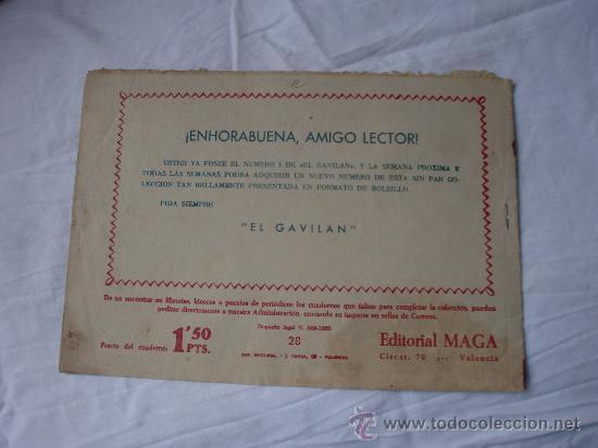 Tebeos: PIEL DE LOBO Nº 28 ORIGINAL - Foto 2 - 27524478