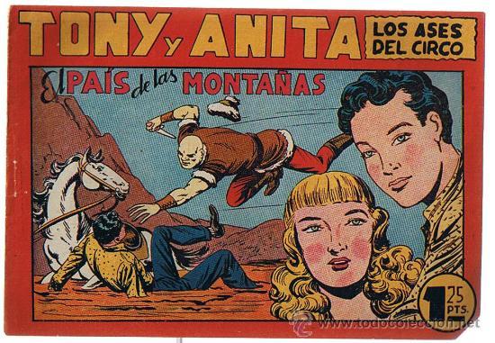 TONY Y ANITA Nº 72. (Tebeos y Comics - Maga - Tony y Anita)