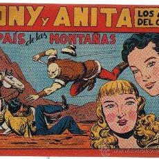 Tebeos: TONY Y ANITA Nº 72.. Lote 21948033