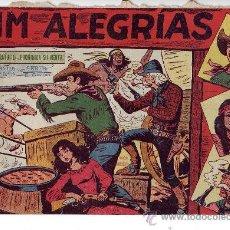 Tebeos: JIM ALEGRIAS - NUMEROS 46 DEL 1 - 68, ED. MAGA 1960. Lote 22125158