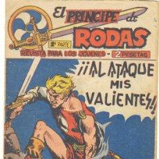 Tebeos: PRINCIPE DE RODAS 2º SERIE Nº 49. Lote 22489578