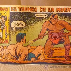 Livros de Banda Desenhada: COMIC, EL TORNEO DE LA MUERTE, RAYO DE LA SELVA, Nº 28 , EDITORIAL MAGA, ORIGINAL. Lote 22511295