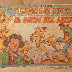 Tebeos: COMIC, DAN BARRY, Nº 2, EL TERREMOTO, AL BORDE DEL ABISMO, EDICIONES MAGA, ORIGINAL. Lote 22520988