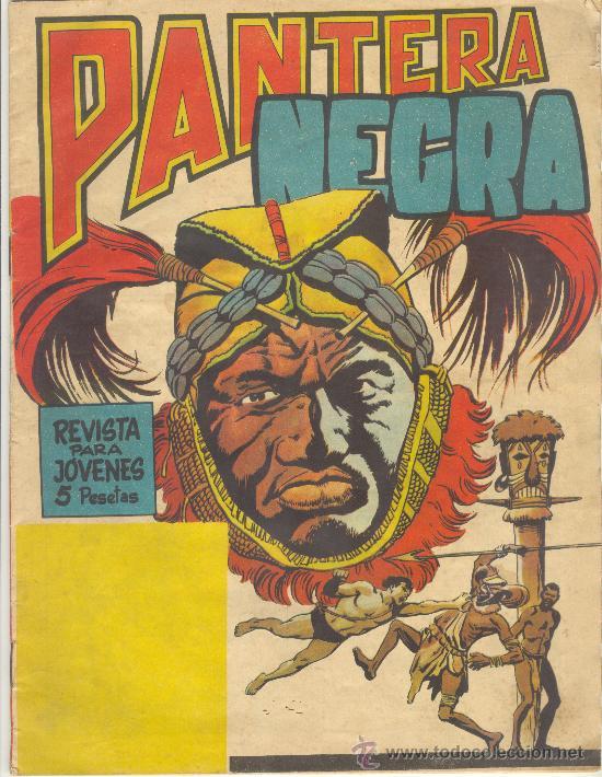 PANTERA NEGRA REVISTA Nº 2 (Tebeos y Comics - Maga - Pantera Negra)