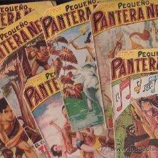 Tebeos: PEQUEÑO PANTERA NEGRA /LOTE DE 7 EJEMPLARES /EDITA: MAGA. Lote 22026301