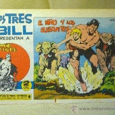 Tebeos: COMIC, LOS TRES BILL, Nº 10, EDITORIAL MAGA, EL NIÑO Y LOS ELEFANTES, ORIGINAL, SAHIB TIGRE. Lote 22683344