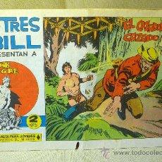 Tebeos: COMIC, LOS TRES BILL, Nº 5, EDITORIAL MAGA, EL CAZADOR CAZADO, ORIGINAL, SAHIB TIGRE. Lote 22683483