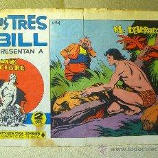 Tebeos: COMIC, LOS TRES BILL, Nº 4, EDITORIAL MAGA, EL DEVORADOR, ORIGINAL, SAHIB TIGRE. Lote 22683490