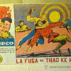 Tebeos: COMIC, TONY Y ANITA, Nº 65, EDITORIAL MAGA, LOS ASES DEL CIRCO, LA FUGA DE THAO KE KUM, ORIGINAL. Lote 22683574