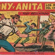 Tebeos: TONY Y ANITA 1ª Nº 153 DE MAGA . Lote 22824717