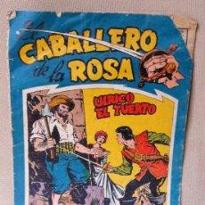 Tebeos: UNICO, COMIC, EL CABALLERO DE LA ROSA, ULRICO EL TUERTO, Nº 1, EDITORIAL MAGA, ORIGINAL, 1958. Lote 22849783