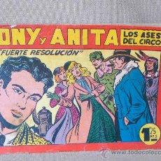 Tebeos: COMIC, TONY Y ANITA, EN FUERTE RESOLUCION, ORIGINAL, EDITORIAL MAGA, Nº 122. Lote 22852049