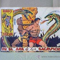 Tebeos: COMIC, ORIGINAL, RAYO DE LA SELVA, Nº 58, EN EL ARA DE LOS SACRIFICIOS, MAGA. Lote 22955218