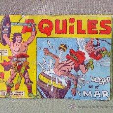 Tebeos: COMIC, AQUILES, EDITORIAL MAGA , Nº 9, LUCHA EN EL MAR, ORIGINAL . Lote 23103325
