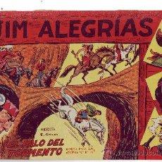 Tebeos: JIM ALEGRIAS - EL PALO DEL TORMENTO - Nº 37 - ED. MAGA 1960.. Lote 23002889