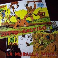 Tebeos: RAYO DE LA SELVA: NÚMEROS 79 Y 81. EDITORIAL MAGA (VALENCIA). JUSTO CASTIGO / LA MURALLA VIVA. Lote 23082730