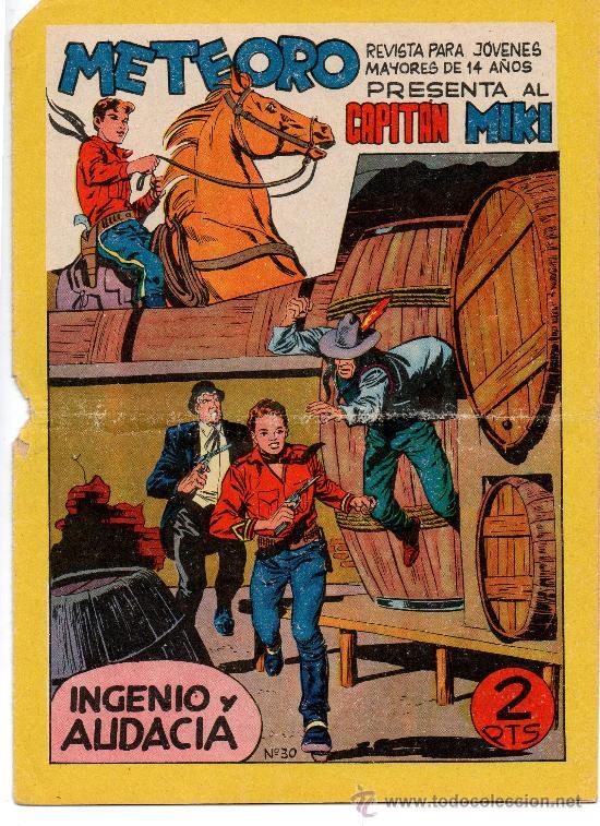 CAPITAN MIKI Nº 30 DE MAGA (Tebeos y Comics - Maga - Pequeño Héroe)
