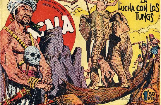 BENGALA Nº22 (1ª SERIE). EDITORIAL MAGA, 1959 (ORIGINAL) (Tebeos y Comics - Maga - Bengala)