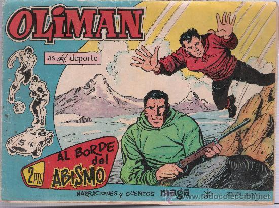 OLIMAN Nº 56. MAGA 1960. EN CONTRAPORTADA CLUB DEPORTIVO BASCONIA. (Tebeos y Comics - Maga - Oliman)