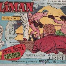 Livros de Banda Desenhada: OLIMAN Nº 49. MAGA 1960. EN CONTRAPORTADA REAL CLUB RECREATIVO DE HUELVA... Lote 23334227