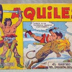 Tebeos: COMIC, AQUILES, EDITORIAL MAGA , Nº 3, EL RASTRO DEL DRAGON ROJO, ORIGINAL,. Lote 23348945
