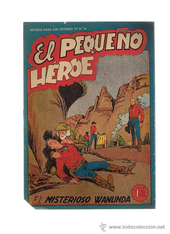 EL PEQUEÑO HÉROE Nº 28. MAGA 1956. SIN ABRIR (Tebeos y Comics - Maga - Pequeño Héroe)