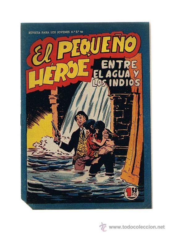 EL PEQUEÑO HÉROE Nº 63. MAGA 1956. SIN ABRIR (Tebeos y Comics - Maga - Pequeño Héroe)