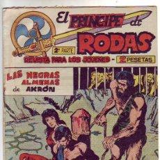 Giornalini: EL PRINCIPE DE RODAS - 2ª PARTE - LAS NEGRAS ALMENAS DE AKRON - Nº 42 - ED. MAGA 1960. Lote 23441682