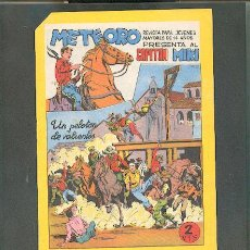 Tebeos: METEORO PRESENTA AL CAPITÁN MIKI Nº 21, EDITORIAL MAGA.. Lote 23595712