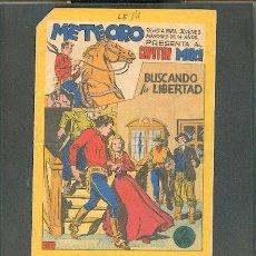 Tebeos: METEORO PRESENTA AL CAPITÁN MIKI Nº 17, EDITORIAL MAGA.. Lote 23595720