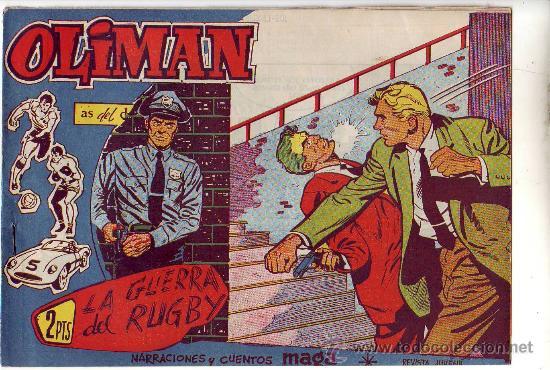 OLIMAN - LOTE DE 60 NUMEROS (DEL 18 AL 96) ED. MAGA (Tebeos y Comics - Maga - Oliman)