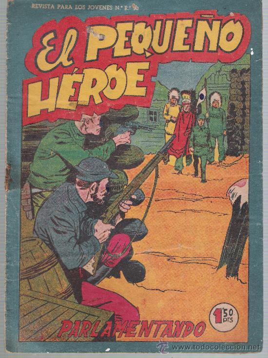 EL PEQUEÑO HÉROE Nº 78. MAGA 1956. (Tebeos y Comics - Maga - Pequeño Héroe)
