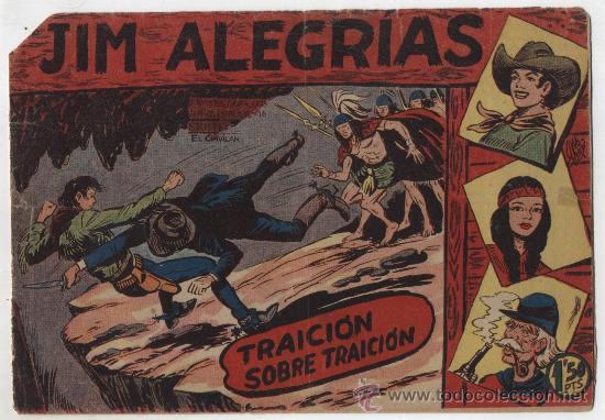 JIM ALEGRÍAS Nº 21: TRAICIÓN SOBRE TRAICIÓN. (Tebeos y Comics - Maga - Otros)