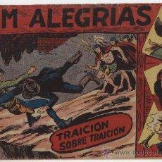 Tebeos: JIM ALEGRÍAS Nº 21: TRAICIÓN SOBRE TRAICIÓN.. Lote 23836125