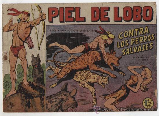 PIEL DE LOBO Nº 9. (Tebeos y Comics - Maga - Piel de Lobo)