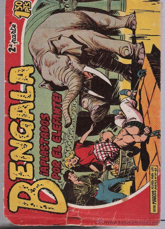 BENGALA 2ª Nº 5. MAGA 1960. (Tebeos y Comics - Maga - Bengala)