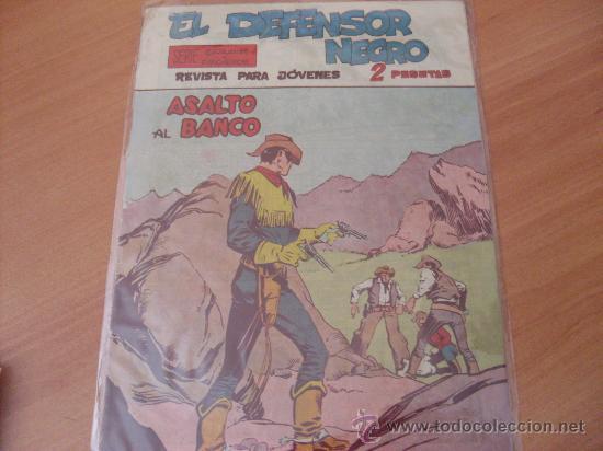 DEFENSOR NEGRO Nº 17 ( ORIGINAL ) (S2) (Tebeos y Comics - Maga - Otros)