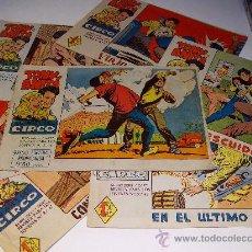 Tebeos: MAGA/ TONY Y ANITA (LOS ASES DEL CIRCO), ORIGINALES. LOTE 6 EJEMPLARES. Lote 26763367
