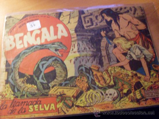 BENGALA PRIMERA SERIE Nº 2 ( ORIGINAL ED. MAGA ) (S2) (Tebeos y Comics - Maga - Bengala)