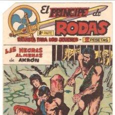 Tebeos: EL PRINCIPE DE RODAS Nº 42 -- ORIGINAL 1960. Lote 24180309