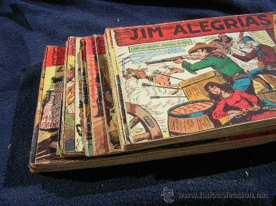 JIM ALEGRIAS ORIGINAL COMPLETA Y SUELTA VER FOTOS (Tebeos y Comics - Maga - Otros)